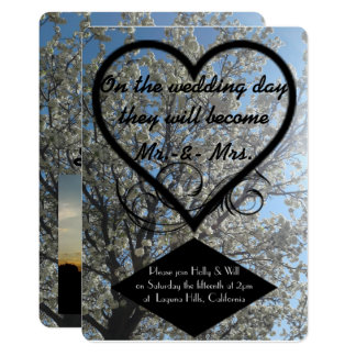 Wedding Day Invitation