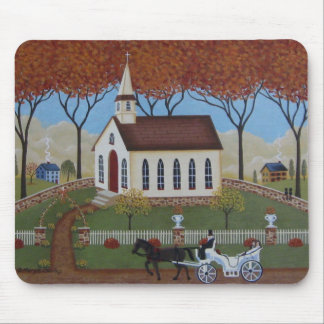Wedding Day Mouse Mat