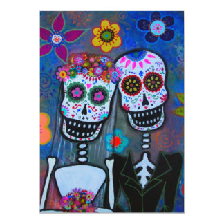 WEDDING DAY OF THE DEAD INVITATION