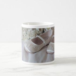 Wedding Day Shoes Basic White Mug