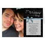 Wedding Day, Why Do I Love You - black w/ ribbon