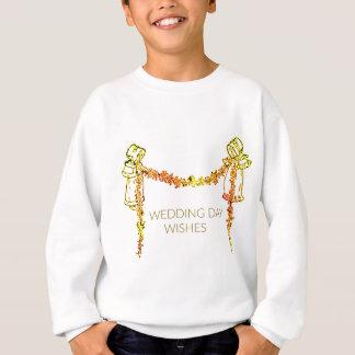 Wedding Day Wishes Sweatshirt