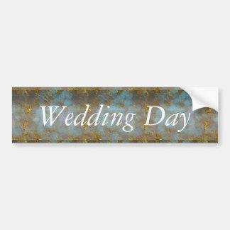 Wedding Design Bumper Sticker