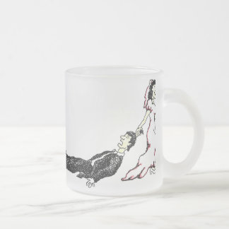 Wedding Designs 40 Frosted Glass Mug