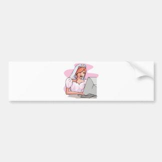 Wedding Designs 47 Bumper Stickers