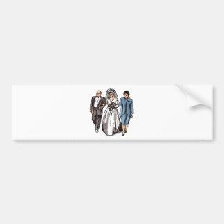 Wedding Designs 48 Bumper Sticker