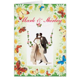 Wedding Designs Greeting Card