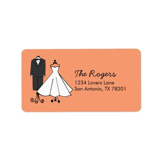 Wedding Doodles Address Label