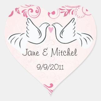 Wedding Dove Stickers