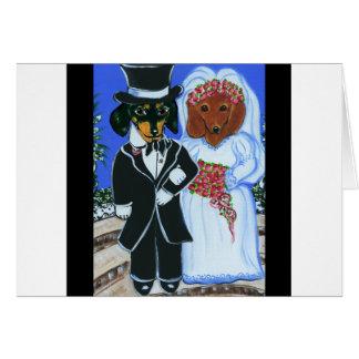 Wedding Doxies Card