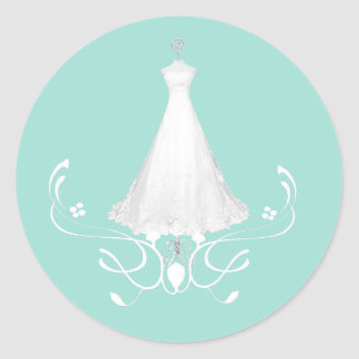 Bridal Shower Envelope Seals Stickers