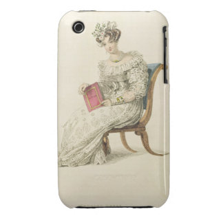 Wedding dress, fashion plate from Ackermann's Repo Case-Mate iPhone 3 Cases