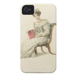 Wedding dress, fashion plate from Ackermann's Repo iPhone 4 Case