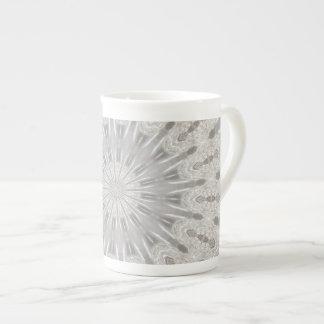 Wedding dress kaleidoscope #1 bone china mug