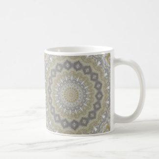 Wedding dress kaleidoscope #3 coffee mug