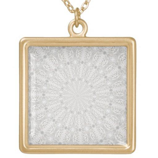 Wedding dress kaleidoscope #4 Necklace