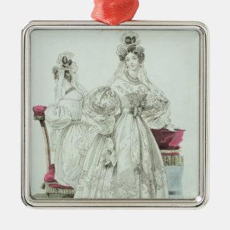 Wedding dress, 'Le Follet Courrier Salons Christmas Ornament