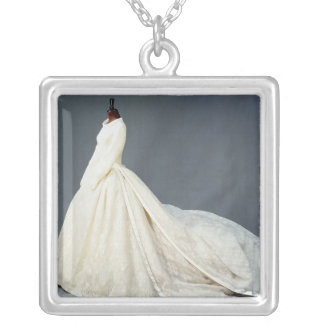 Wedding dress of Katharine Worsley Silver Plated Necklace