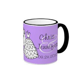 Wedding Dress & Tux Custom Keepsake Mugs