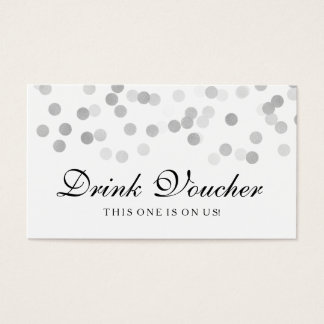 complimentary drink ticket template - 149 wedding drink voucher business cards and wedding