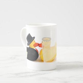 Wedding ducks 2 ...  ceramic mugs bone china mug