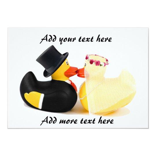 Wedding ducks 4 card