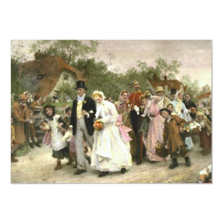 Wedding, engagement or bridal shower invitations