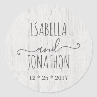 Wedding Envelope Seal | Rustic Romantic