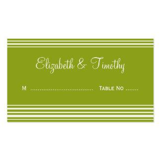 Wedding Escort Cards Business Card