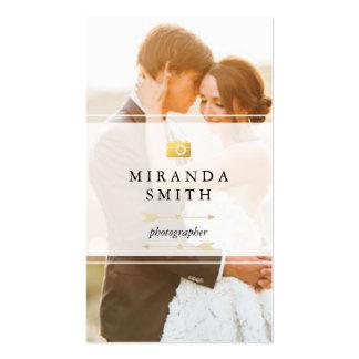 Wedding Event Photographer Business Card