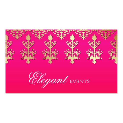 Collections of wedding planner business card business cards wedding event planner indian damask pink red business cards colourmoves