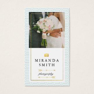 Wedding Events Photography Business Card