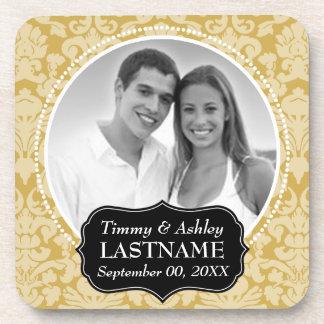 Wedding Favor - Anniversary Keepsake Coasters