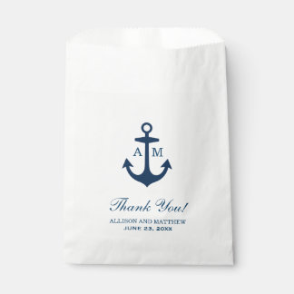 Wedding Favor Bags | Nautical Theme Favour Bags