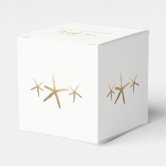 Wedding Favor Box, Customize, Beach Starfish Favour Box