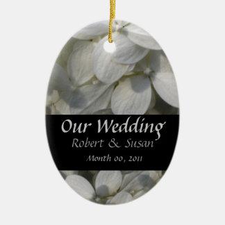 Wedding Favor Keepsake Christmas Ornament