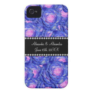 Wedding favors Blue roses iPhone 4 Covers