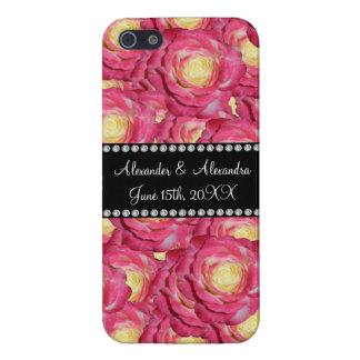 Wedding favors Pink roses iPhone 5 Covers