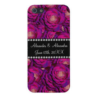 Wedding favors Purple roses iPhone 5 Cover