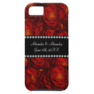 Wedding favors Red roses iPhone 5 Cases