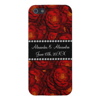Wedding favors Red roses iPhone 5 Cover