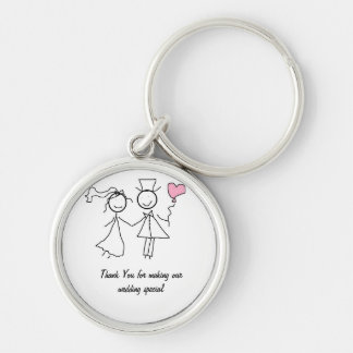 Wedding Favour Gift Key Chains