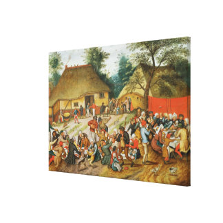 Wedding Feast Canvas Print