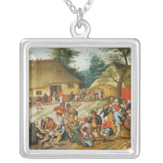 Wedding Feast Silver Plated Necklace