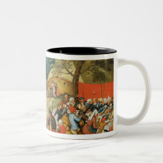 Wedding Feast Two-Tone Coffee Mug