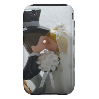 Wedding Figures iPhone 3 Tough Covers