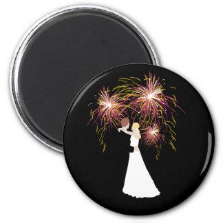 Wedding Fireworks Magnet