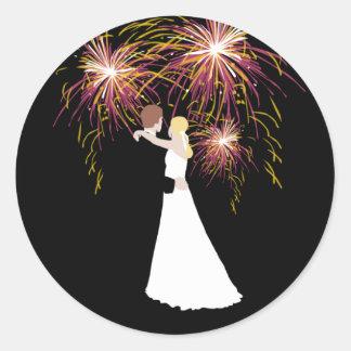 Wedding Fireworks Stickers