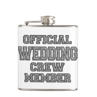 Wedding Flask Groomsmen's Gift