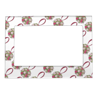 Wedding Flower Girl Bridesmaid Rose Bouquet Frame